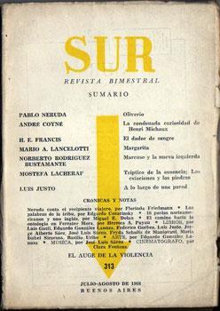Sur. Revista Bimestral Nº 313, Julio y: Pablo Neruda, André