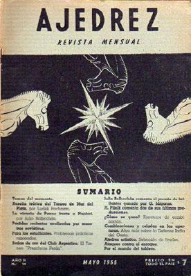 Revista Ajedrez, Mayo 1955, Año II - Nº 14: Varios