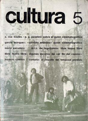 Revista Cultura No. 5, junio/julio 1975