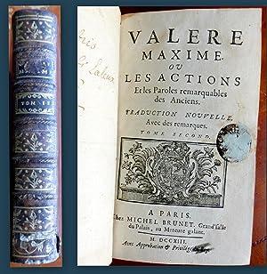 VALERE MAXIME ou les Actions et les: VALERE MAXIME