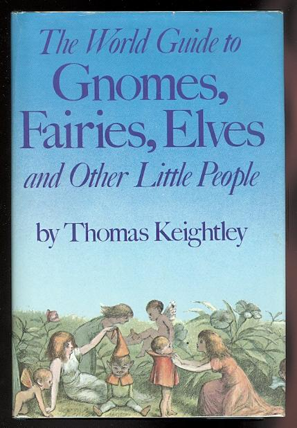 Image result for the world guide to gnomes, fairies, elves and other little people