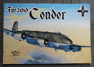 """FOCKE-WULF 200 """"CONDOR"""". (Fw200). WYDAWNICTWO MILITARIA 7.: Ledwoch, Janusz."""