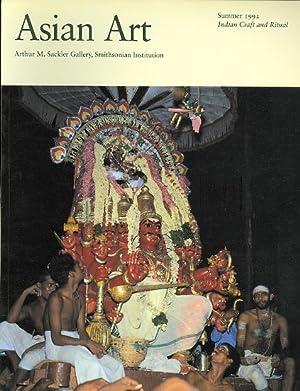ASIAN ART. VOLUME V, NUMBER 3. SUMMER: Huyler, Stephen P.;