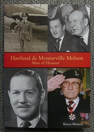 HARTLAND DE MONTARVILLE MOLSON: MAN OF HONOUR.: Molson, Karen.