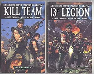 WARHAMMER. THE LAST CHANCERS DUOLOGY. 1. 13TH: Thorpe, Gav. Cover