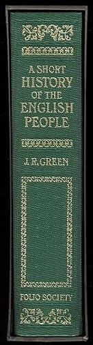 A SHORT HISTORY OF THE ENGLISH PEOPLE.: Green, John Richard.