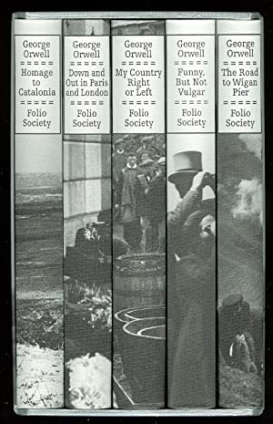REPORTAGE. 5 VOLUME SET. CONTAINS: HOMAGE TO: Orwell, George. (Eric