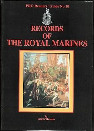 RECORDS OF THE ROYAL MARINES. PRO READERS': Thomas, Garth.