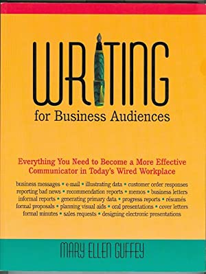 WRITING FOR BUSINESS AUDIENCES.