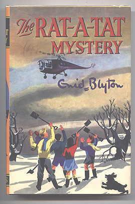 THE RAT-A-TAT MYSTERY. (THE 'BARNEY' SERIES.): Blyton, Enid. Illustrated