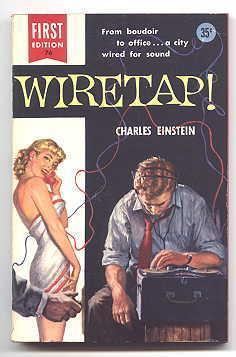 WIRETAP!: Einstein, Charles. Cover