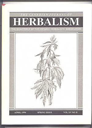 THE CANADIAN JOURNAL OF HERBALISM. SPRING ISSUE.: Stelling, Keith, ed.