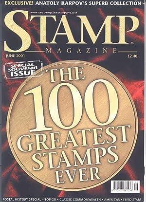 STAMP MAGAZINE. JUNE 2001. VOLUME 67, NO.: Fairclough, Steve, ed.