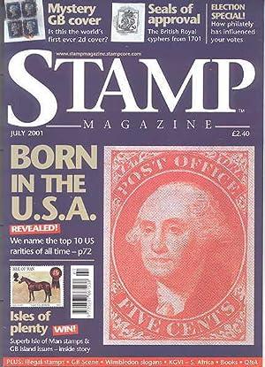 STAMP MAGAZINE. JULY 2001. VOLUME 67, NO.: Fairclough, Steve, ed.