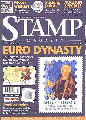 STAMP MAGAZINE. SEPTEMBER 2001. VOLUME 67, NO.: Fairclough, Steve, ed.