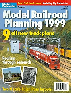 MODEL RAILROAD PLANNING 1999. (MODEL RAILROADER.): Koester, Tony, ed.
