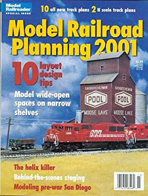 MODEL RAILROAD PLANNING 2001. (MODEL RAILROADER.): Koester, Tony, ed.