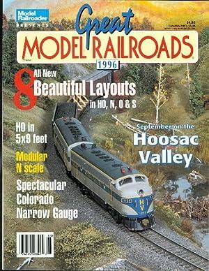 GREAT MODEL RAILROADS 1996. (MODEL RAILROADER.): Kelly, Jim, ed.