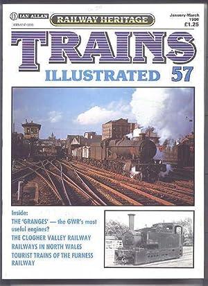 TRAINS ILLUSTRATED 57. JANUARY-MARCH 1986. RAILWAY HERITAGE.: Harris, Nigel, editor.