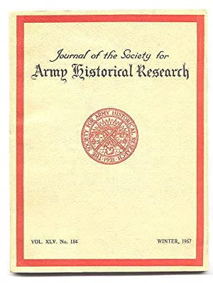 JOURNAL OF THE SOCIETY FOR ARMY HISTORICAL: Erskine, David, ed.