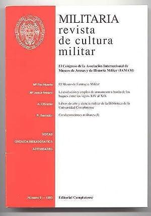 MILITARIA: REVISTA DE CULTURA MILITAR. NUMERO 5: Maria Paz Huerta;