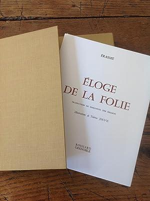 L' ELOGE de la FOLIE.: ERASME
