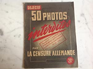 50 photos interdites par la censure Allemande.