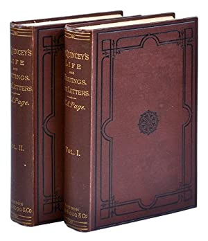 THOMAS DE QUINCEY: HIS LIFE AND WRITINGS. WITH UNPUBLISHED CORRESPONDENCE.: Page, H.A. (pseudonym ...