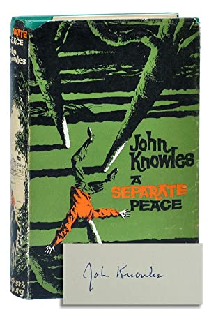 an overview of a separate peace novel by john knowles Brief biography of john knowles a separate peace is most often associated with another famous first novel about the struggles of an adolescent prep school student, the in writing a separate peace, knowles drew heavily on his experience of spending two summers at exeter in 1943 and.