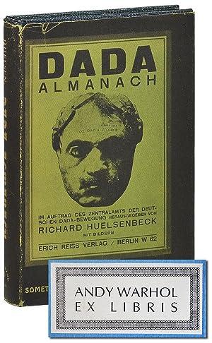 DADA ALMANACH - ANDY WARHOL'S COPY: Huelsenbeck, Richard (editor);