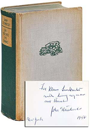DIE FRÜCHTE DES ZORNES: ROMAN (THE GRAPES: Steinbeck, John (novel);