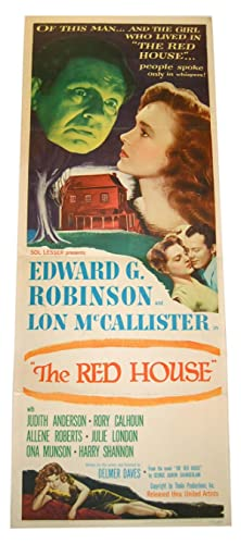 THE RED HOUSE - ORIGINAL INSERT FILM: Chamberlain, George Agnew