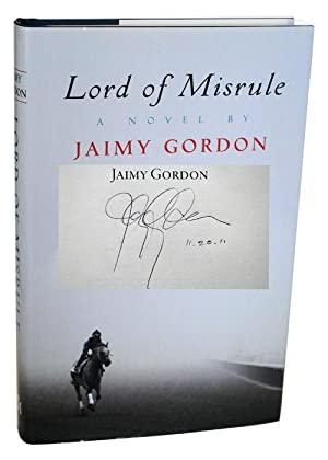 LORD OF MISRULE - SIGNED: Gordon, Jaimy