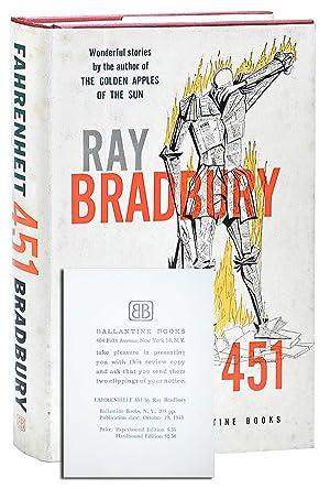 FAHRENHEIT 451 - REVIEW COPY: Bradbury, Ray