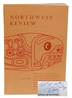 NORTHWEST REVIEW - VOL. 1, NO. 2 - INSCRIBED BY KEN KESEY: Paul, Robert (editor); Kesey, Ken (...