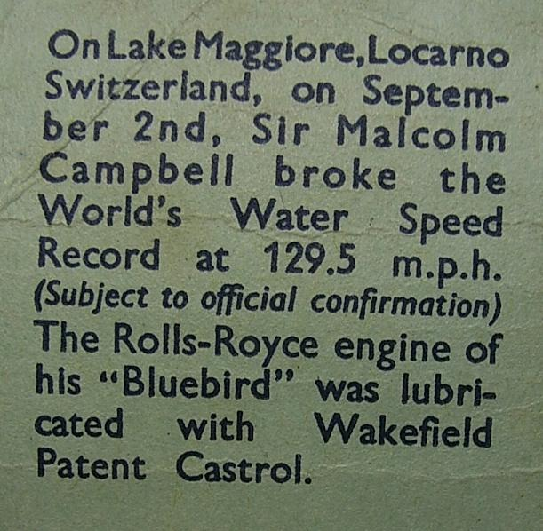 see sir malcolm campbell breaking the worlds water speed