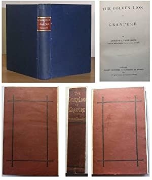 THE GOLDEN LION OF GRANPERE ( 1872 First Edition) with the original publisher's cloth binding ...