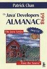 THE JAVA(TM) DEVELOPERS ALMANAC: 1998: Chan, Patrick
