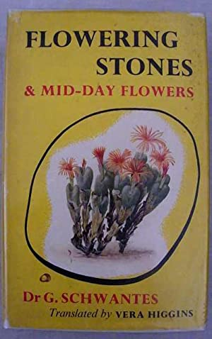Flowering Stones & Mid-Day Flowers. A Book: Schwantes, G.