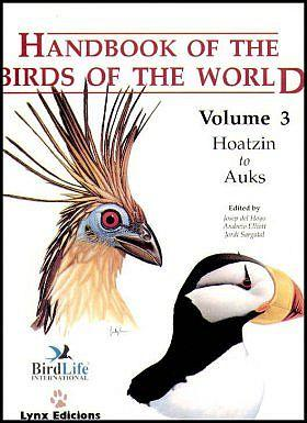 Handbook Of The Birds World Del Hoyo J