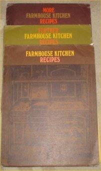 Farmhouse Kitchen Recipes, More Farmhouse Kitchen Recipes and Further Farmhouse Kitchen Recipes Dorothy Sleightholme Very Good 3 sets of recipe packets. Farmhouse Kitchen Recipes Cards 1-58, More Farmhouse Kitchen Recipes Cards 59-110 and Further Farmhouse Kitchen Recipes Card