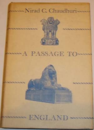 A Passage To England Nirad C Chaudhuri
