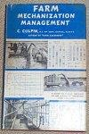 Farm Mechanization Management: C. Culpin