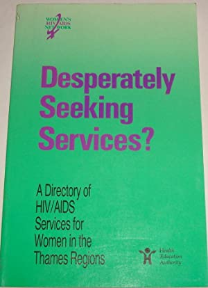 Desperately Seeking Services?: Lorna Ryan