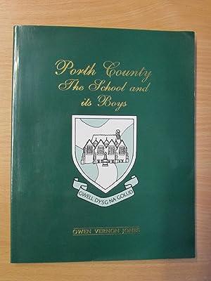 Porth County - The School and its: Owen Vernon JONES