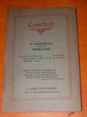 Comfort: a Handbook for the Bereaved.
