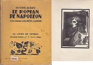 LE ROMAN DE NAPOLEON. ILLUSTRE de 39: Octave AUBRY.