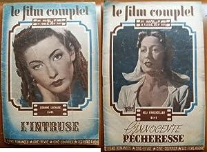 Revue LE FILM COMPLET # 2608- Novembre 1943 Corinne LUCHAIRE L Intruse ILLUSTRE Heli FINKENZELLER