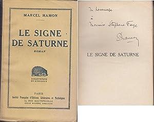 Le SIGNE DE SATURNE 1932 GUSTAVE LE: Marcel HAMON