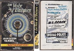 Les VOIX DE L UNIVERS - FNA: Jean Gaston VANDEL
